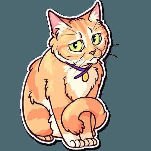 Meme Cats Stickers - Sticker 30