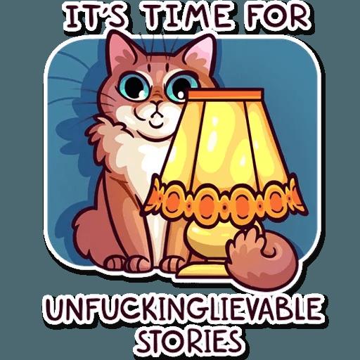 Meme Cats Stickers - Sticker 5