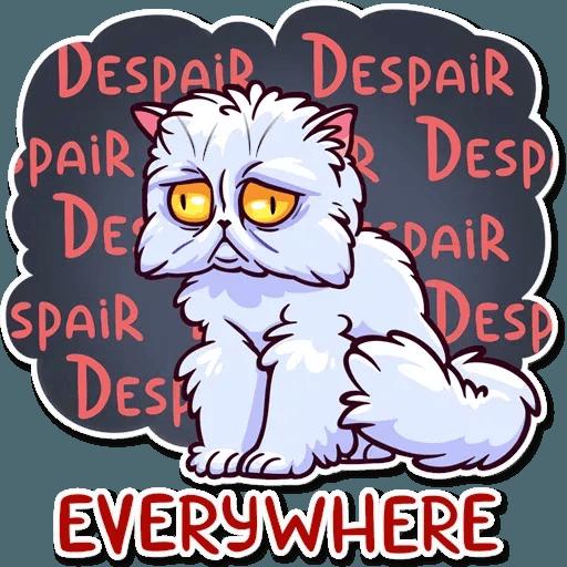 Meme Cats Stickers - Sticker 11