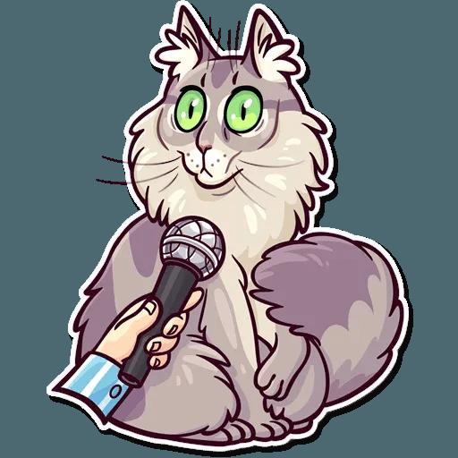 Meme Cats Stickers - Sticker 3
