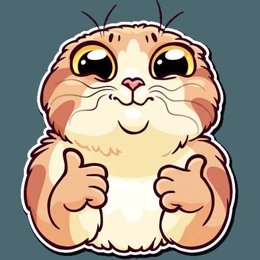 Meme Cats Stickers - Sticker 21