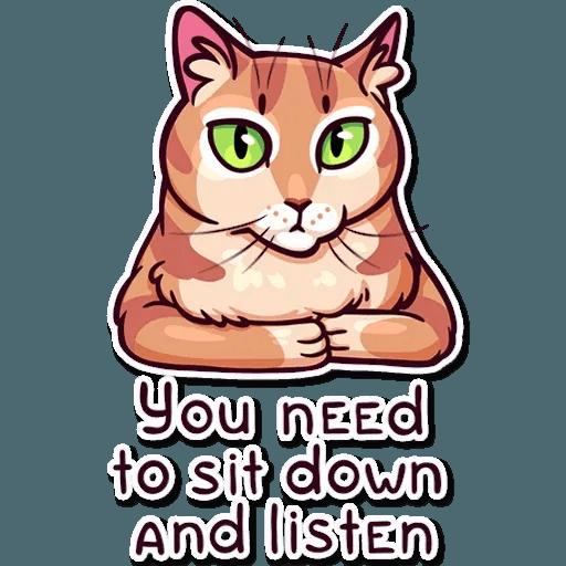 Meme Cats Stickers - Sticker 26