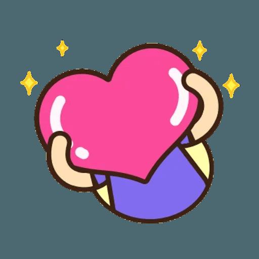 舉牌小人 - 動感日常篇 - Sticker 21