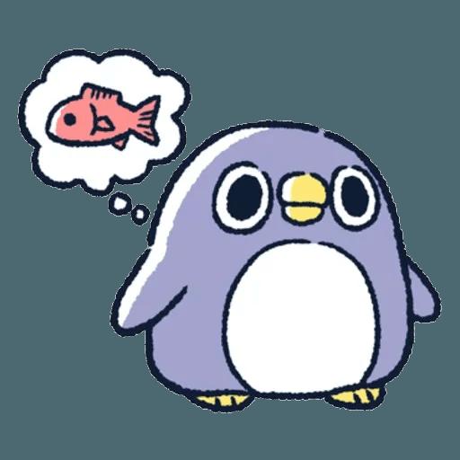 胖企鵝 1 - Sticker 30