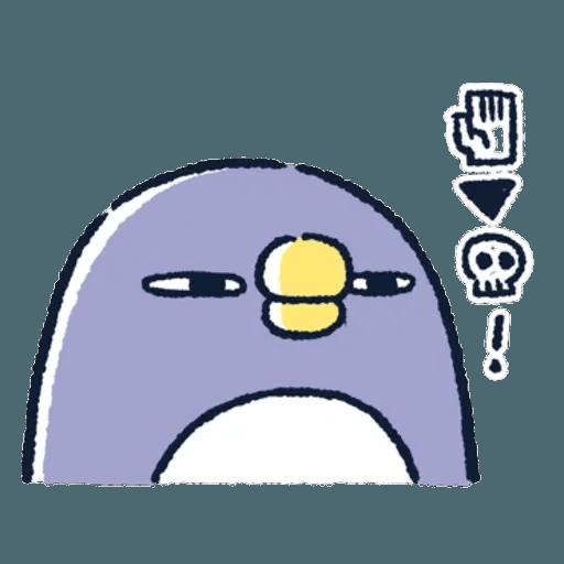 胖企鵝 1 - Sticker 16