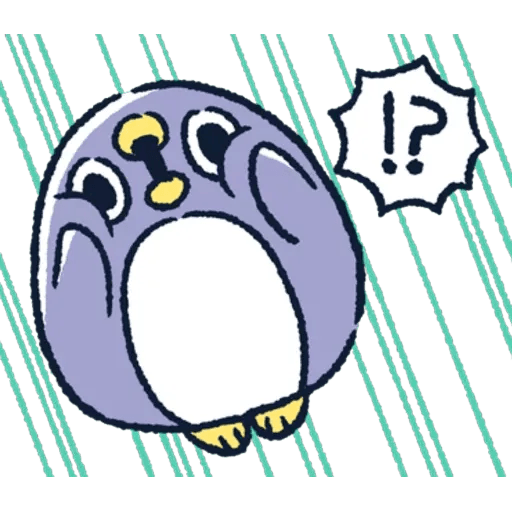 胖企鵝 1 - Sticker 6