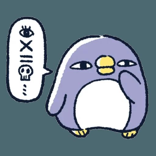 胖企鵝 1 - Sticker 26