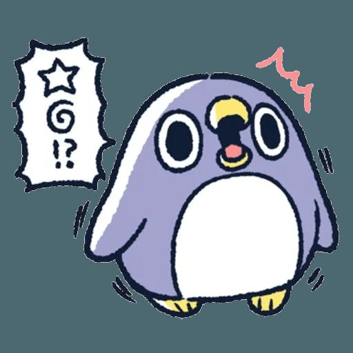 胖企鵝 1 - Sticker 3
