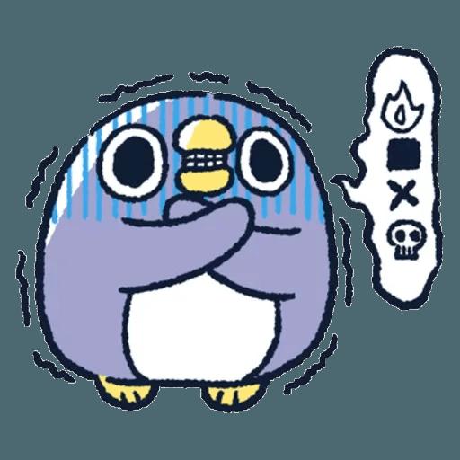 胖企鵝 1 - Sticker 8