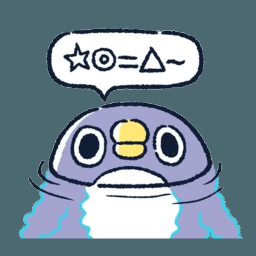 胖企鵝 1 - Sticker 17