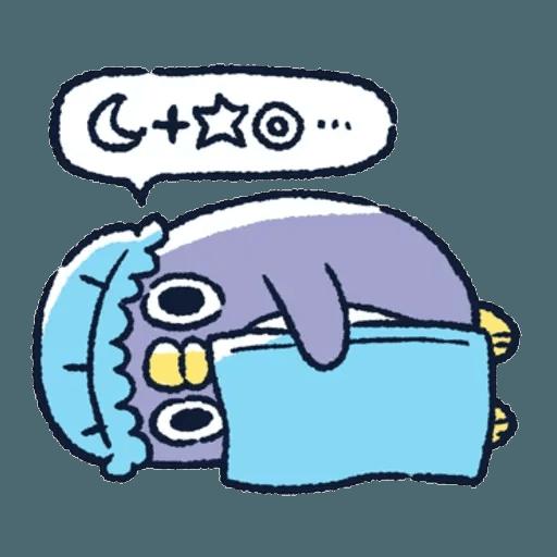 胖企鵝 1 - Sticker 21