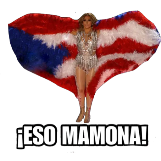 Super Bowl Shakira & J Lo - Sticker 10