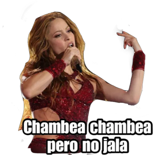 Super Bowl Shakira & J Lo - Sticker 14