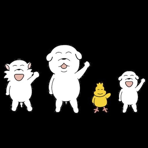 萌萌犬4 - Sticker 4