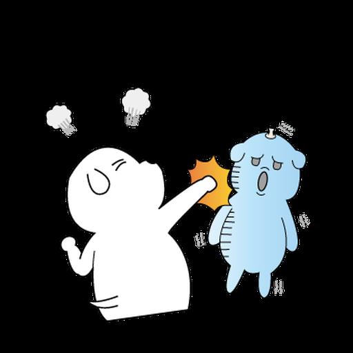 萌萌犬4 - Tray Sticker