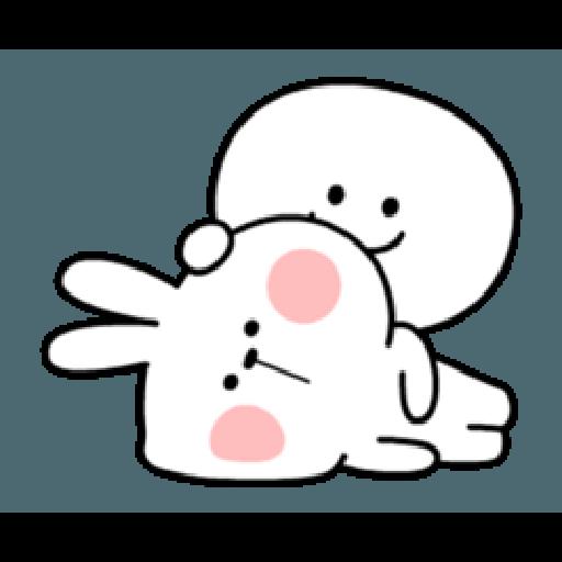 Spoiled Rabbit Smile Person 6 - Sticker 19