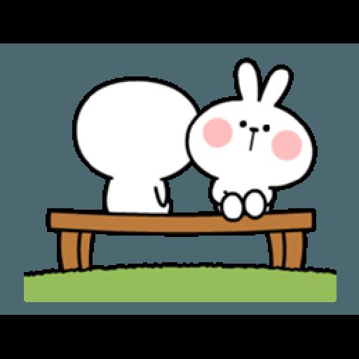 Spoiled Rabbit Smile Person 6 - Sticker 24