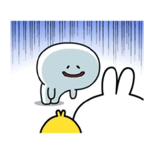 Spoiled Rabbit Smile Person 6 - Sticker 21