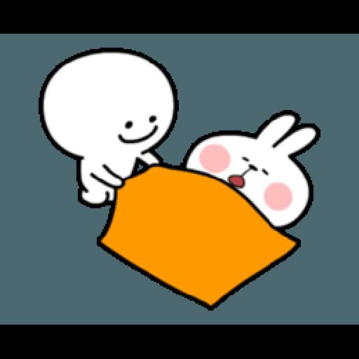 Spoiled Rabbit Smile Person 6 - Sticker 14