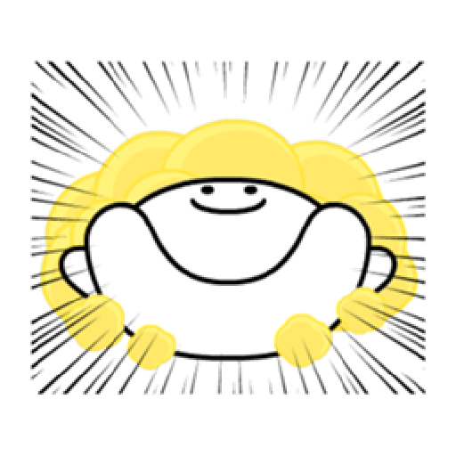 Spoiled Rabbit Smile Person 6 - Sticker 11