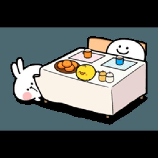 Spoiled Rabbit Smile Person 6 - Sticker 27