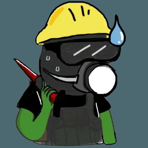 Pepe fighting HKG2 - Sticker 15
