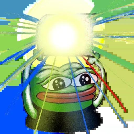 Pepe fighting HKG2 - Sticker 18