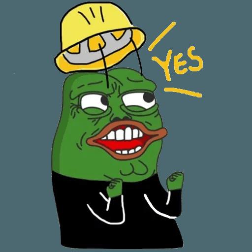 Pepe fighting HKG2 - Sticker 14