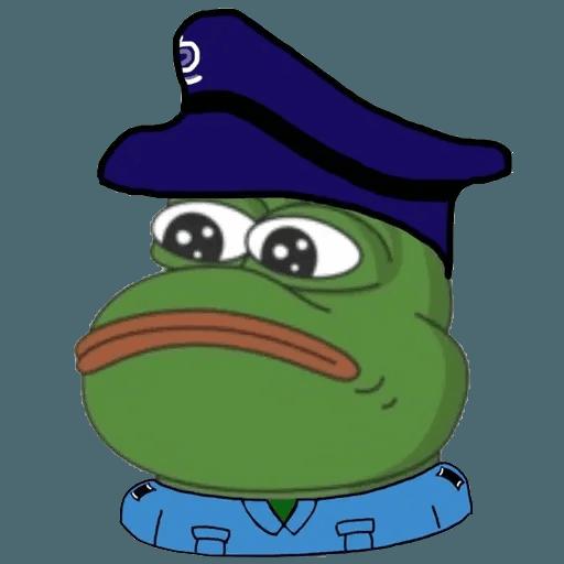 Pepe fighting HKG2 - Sticker 19