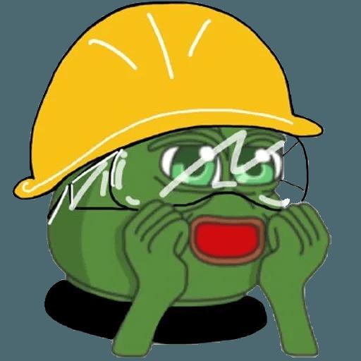 Pepe fighting HKG2 - Sticker 4