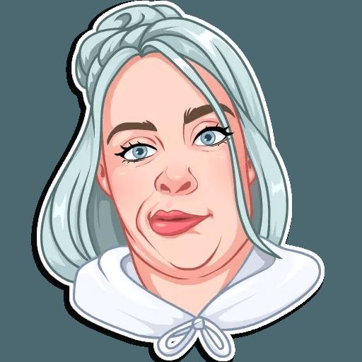 Billie Eilish - Sticker 25
