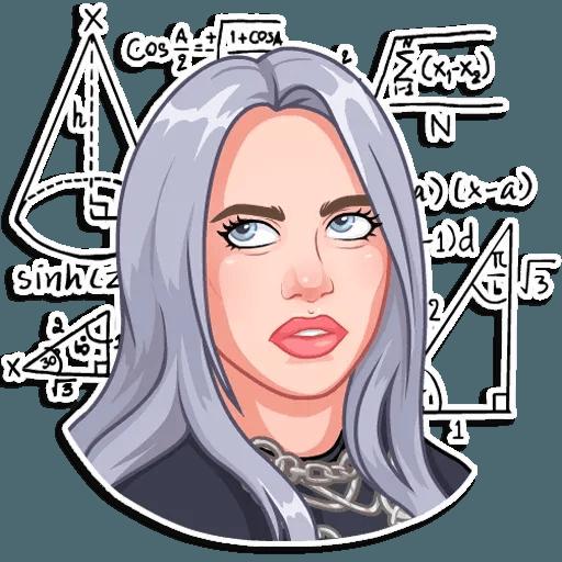 Billie Eilish - Sticker 28