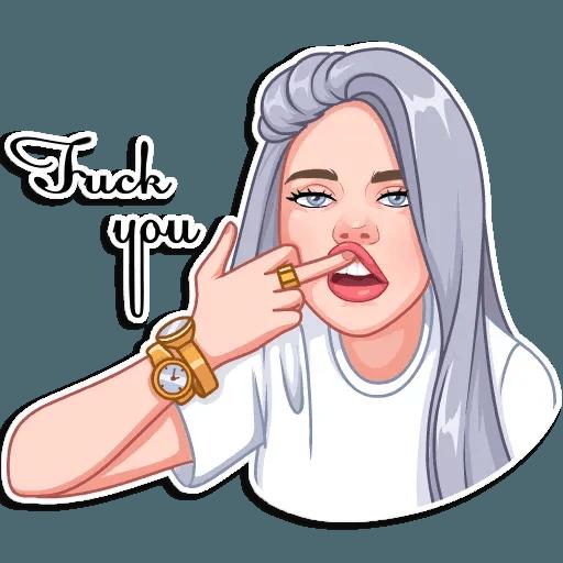 Billie Eilish - Sticker 13
