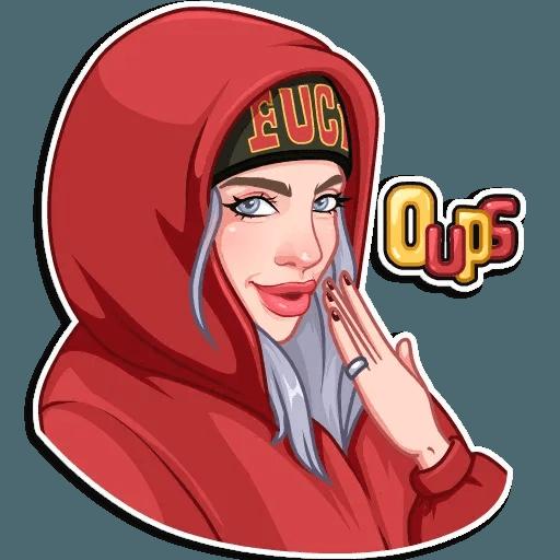 Billie Eilish - Sticker 23