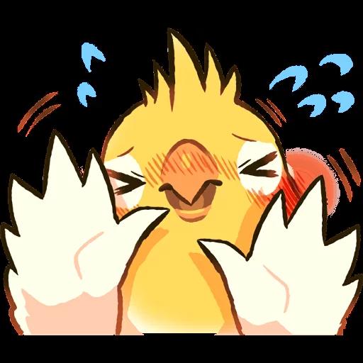 Bird2 - Sticker 22
