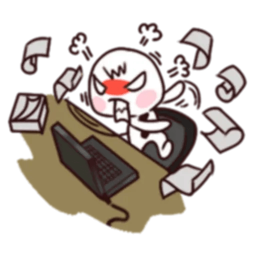 Work Work Work - Sticker 5