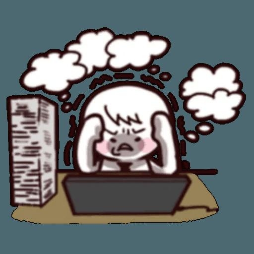 Work Work Work - Sticker 9