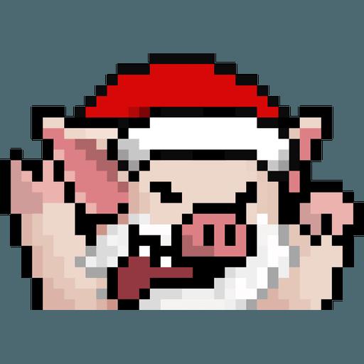 LIHKG PigXmas - Sticker 4