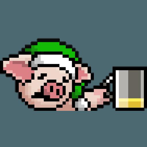 LIHKG PigXmas - Sticker 18