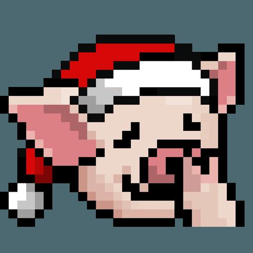 LIHKG PigXmas - Sticker 16