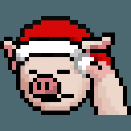 LIHKG PigXmas - Sticker 25