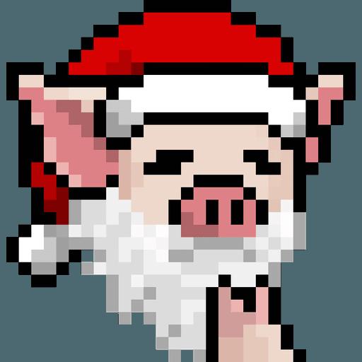 LIHKG PigXmas - Sticker 12