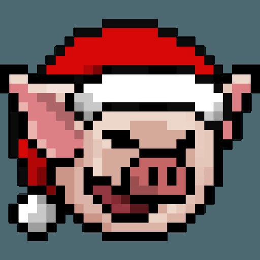 LIHKG PigXmas - Sticker 2