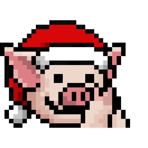 LIHKG PigXmas - Sticker 3