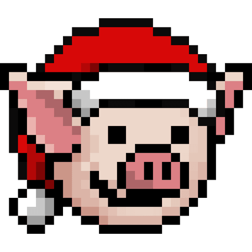 LIHKG PigXmas - Tray Sticker