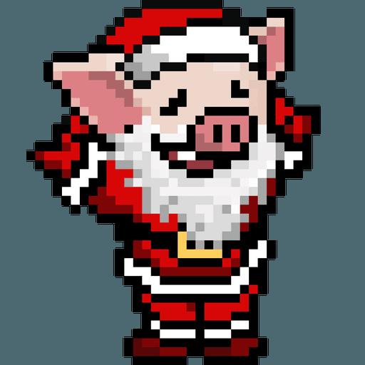 LIHKG PigXmas - Sticker 13