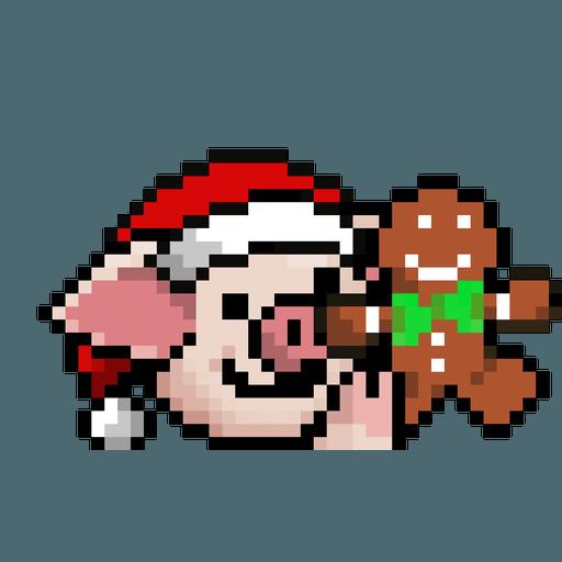 LIHKG PigXmas - Sticker 8