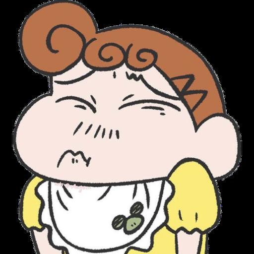小葵 蠟筆小新妹妹 野原葵 Himawari shinchan 4 - Sticker 15