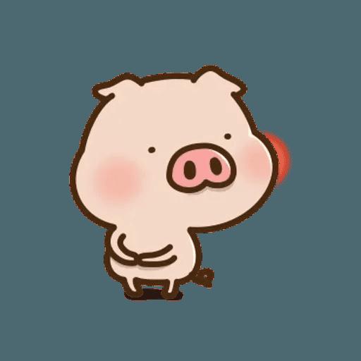 豬豬寶貝 - Sticker 9