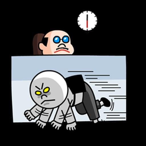 Working man - Sticker 17